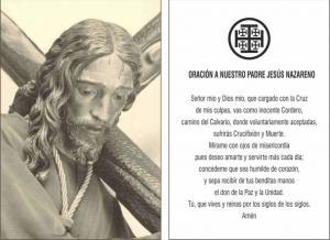 Oracion de Jesús