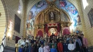 convivencia junta auxiliar con jóvenes del rosario