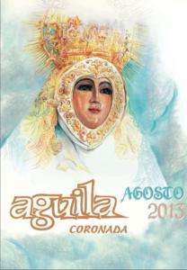 portada boletín virgen del águila 2013 con ilustración del cartel