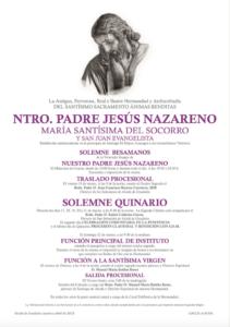 Cartel Cultos 2015