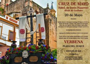 Cartel Cruz de Mayo 2016